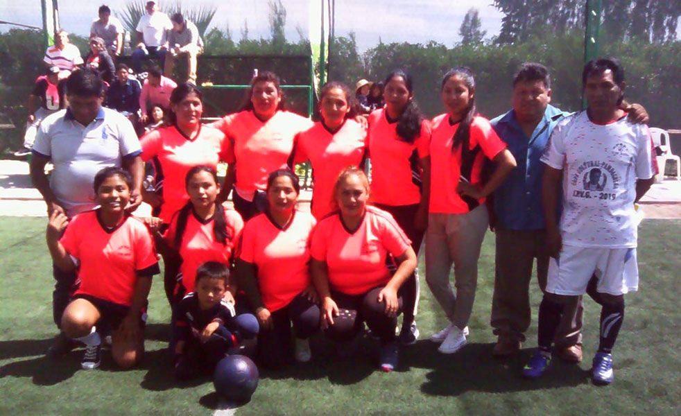 Intensa fue la décima fecha del fulbito de residentes de Pampacolca en Arequipa