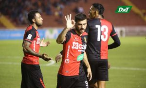 El León se impuso en casa y ya piensa en Palmeiras