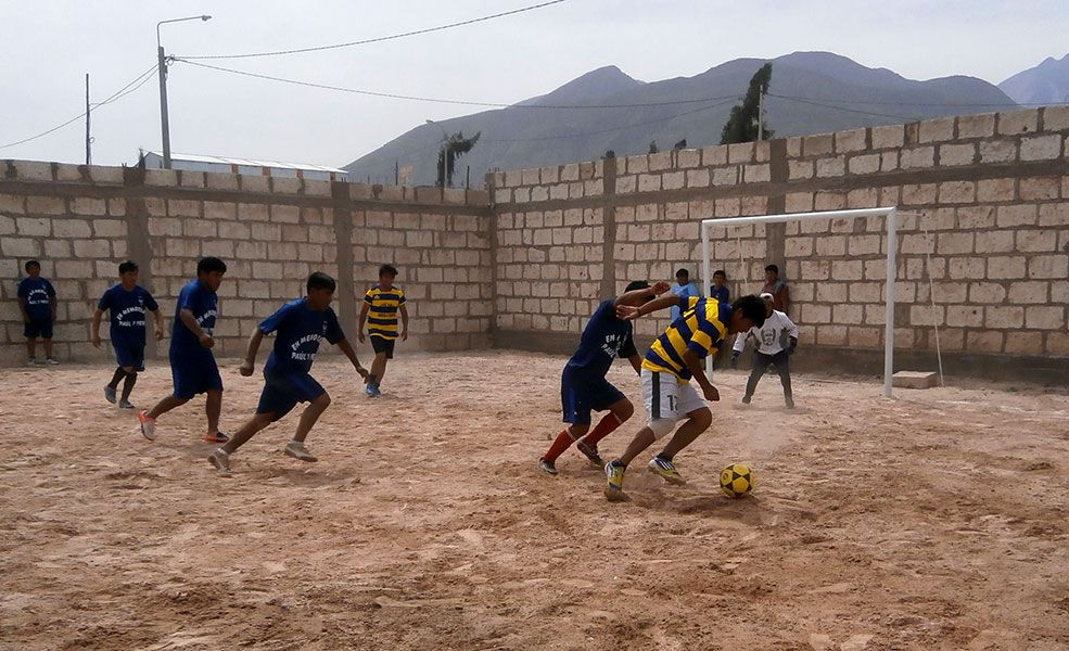 Residentes santarrosinos tuvieron su jornada deportiva en el Cono Norte