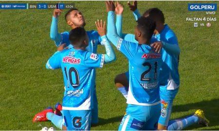 Liga 1: Binacional gana por goleada a San Martín