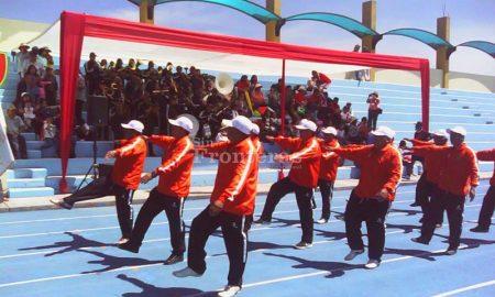Inauguran los Juegos Deportivos de los ex alumos del Colegio Militar