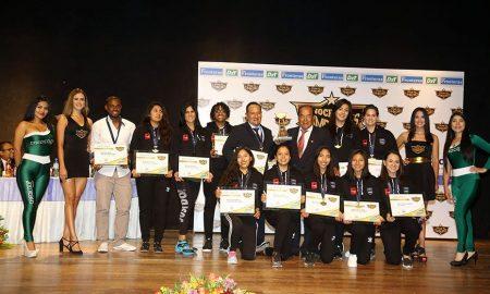 La representación de Faraday fue la mejore del baloncesto femenino en el 2018 a nivel nacional.