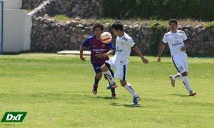 En la Liga de Alto Selva Alegre se enfrentaron Real Madrid y Barcelona. Solo pudieron empatar 1-1