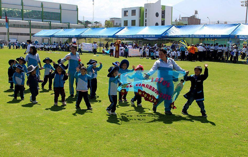 Se inauguró la V Copa Nené en el distrito de Cayma