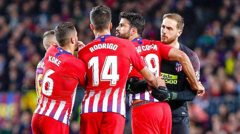 Diego Costa fuera de las canchas cuatro fechas.