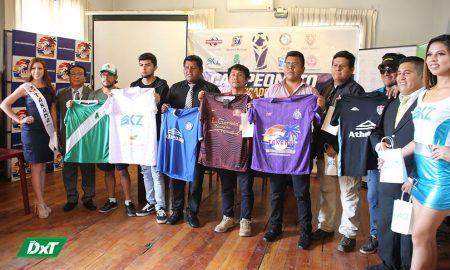 Los delegados de los equipos participaron de la presentación del tradicional torneo.