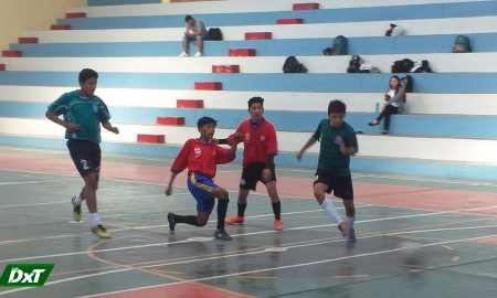 Se desarrolló quinta fecha del futsal varones en Miraflores