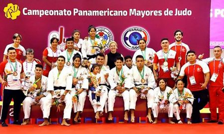 Delegación nacional que desarrolló un buen campeonato.