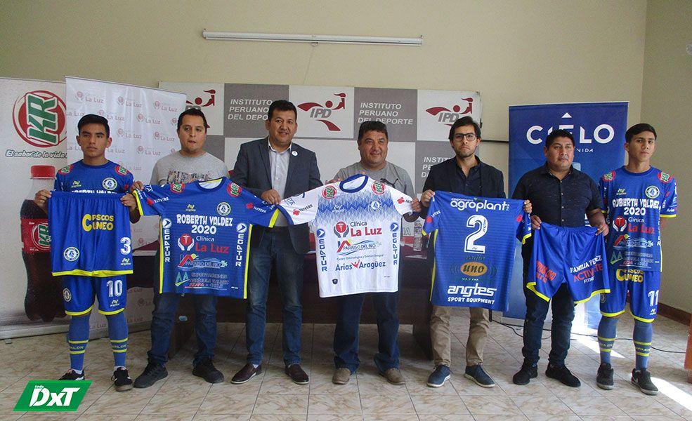 Conferencia para la prensa se realizó ayer en el complejo deportivo Los Granados.