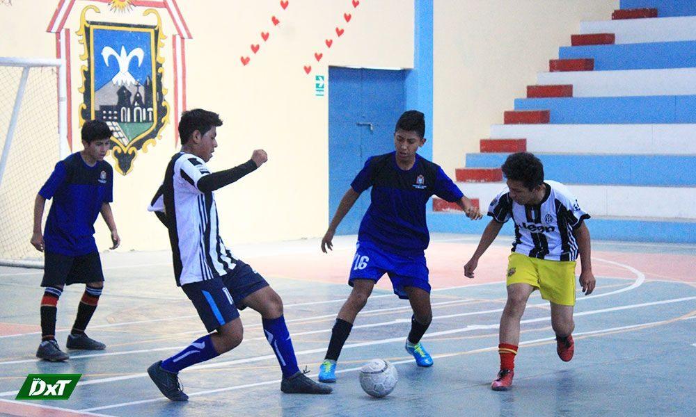 Se jugó la segunda fecha del futsal varones de los Juegos Escolares en Miraflores