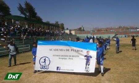 Liga de Paucarpata inauguró sus torneos de fútbol de menores
