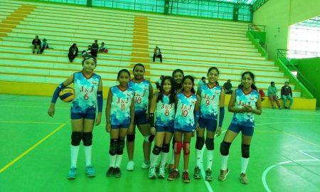 Arequipa: Puntos y mates en torneo de vóley de menores en Paucarpata