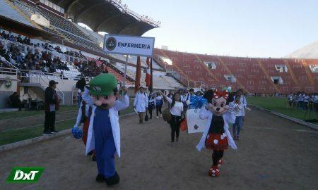 Instalarán pista de atletismo en estadio Arequipa