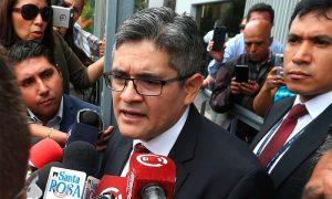 Fiscal Domingo Pérez es hincha de Melgar y admira a Paolo Guerrero