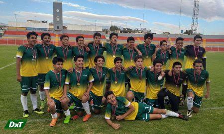 La Salle es bicampeón de fútbol en los juegos CODECOA 2019