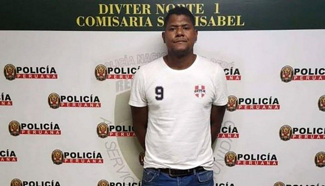 """Chiquito"" Flores fue detenido por violencia familiar."