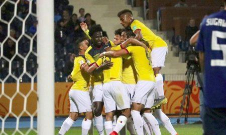 Ecuador empató, México perdió y Colombia ganó.