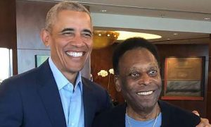"""Pelé y Obama se reúnen en Brasil para trabajar juntos """"por un mundo mejor"""""""