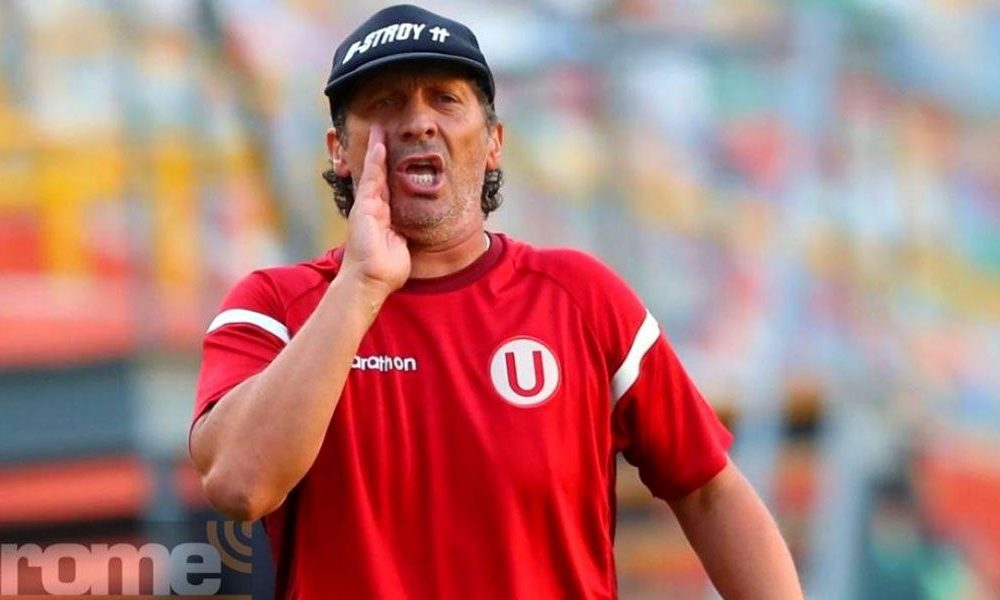 Pedro Troglio habló sobre la situación de Universitario.
