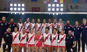 Vóley: Perú vuelve a ganar a España en amistoso, esta vez en México