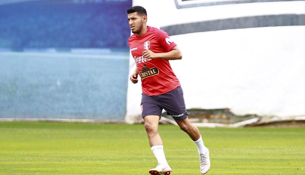Tras la lesión de Hurtado, fue voceado, pero llamaron a Josepmir Ballón