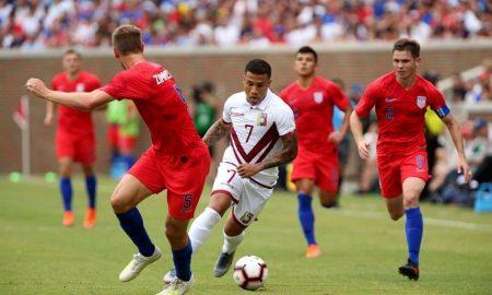 """En su último amistoso previo a la Copa América la """"Vinotinto"""" goleó 3-0 a Estados Unidos."""