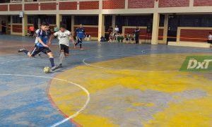 Inició la disciplina de futsal en la etapa regional de los Juegos Deportivos Escolares