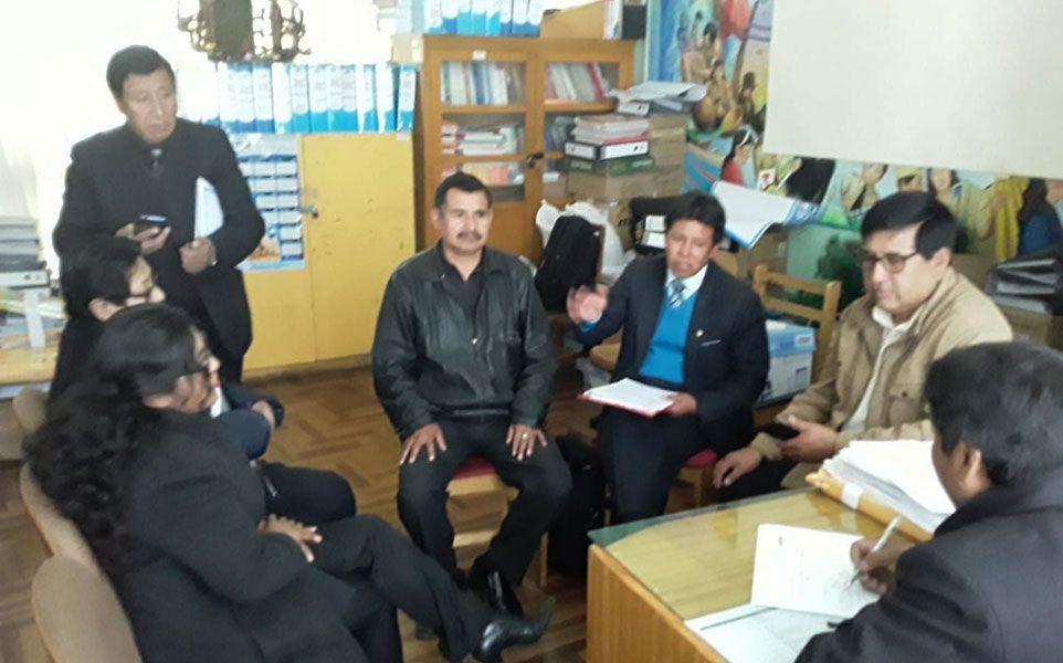 La reunión será en la Dirección Regional de Educación.