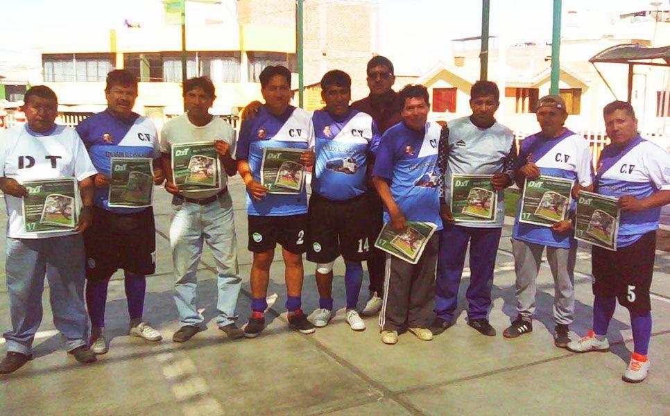 Integrantes de César Vallejo se declaran hinchas del diario deportivo Todo DxT.