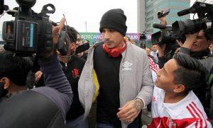 """Guerrero a su llegada a Lima: """"Estoy ilusionado con hacer una buena Copa América"""""""