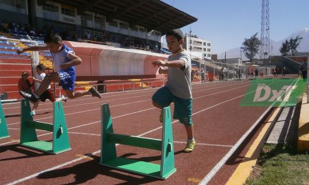 Juegos escolares: Así fue la primera fecha de atletismo de primaria