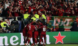 Liverpool se lleva la copa de la Champions League