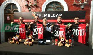 Presentación del nuevo entrenador del FBC Melgar