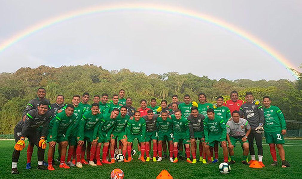 Bolivia ya está en Brasil para Copa América