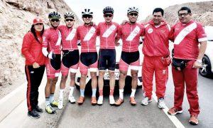 Selección peruana de ciclismo entrena en Arequipa para los Juegos Panamericanos Lima