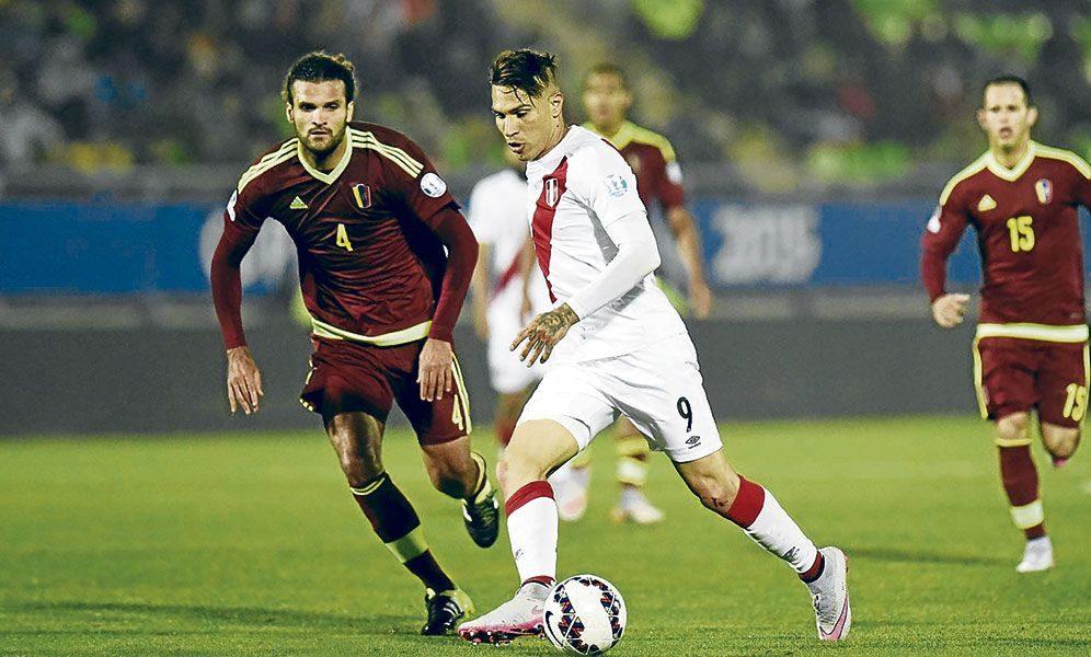 Perú enfrenta a Venezuela (14 horas) por el grupo 'A' de la Copa América