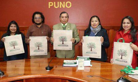 """Jornada """"Eco Justicia"""" se realiza este 8 de junio en la vía Juliaca - Coata."""
