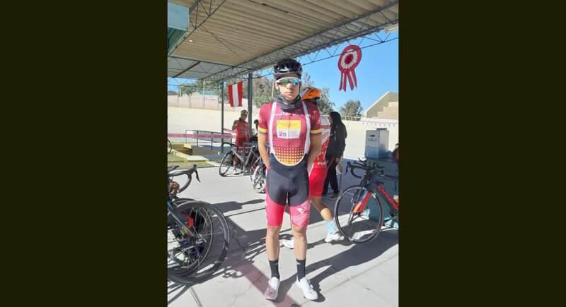 Ciclista Alonso Gamero alza la voz por el poco apoyo que reciben los deportistas
