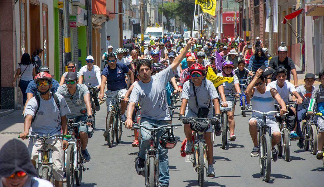 """Bicicleteada """"Cletea Tacna 2019"""" iniciará en Pocollay y pasará por tres distritos"""
