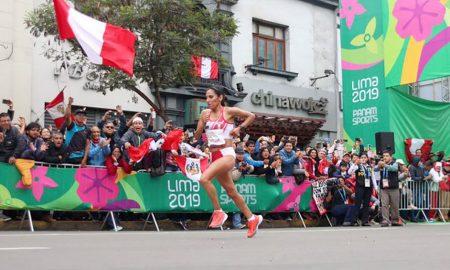 Gladys Tejeda, con récord, primera peruana que gana el maratón de los Juegos