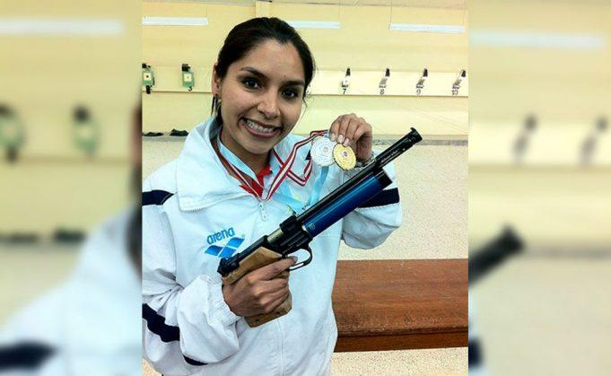 Mariana Quintanilla: Puneña de nacimiento. Va en pistola. Son sus terceros Panamericanos.
