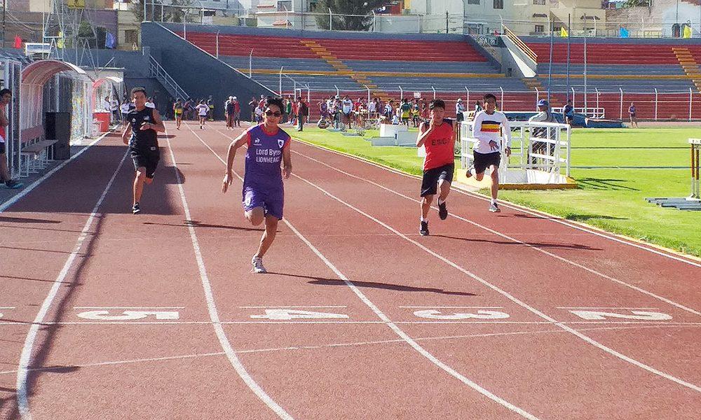 Juegos Codecoa: 27 colegios participan en el torneo de atletismo