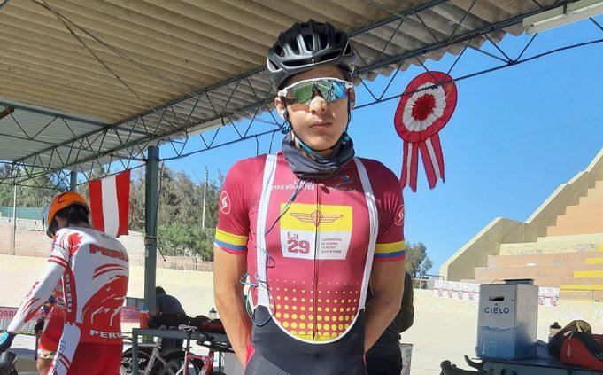 Alonso Gamero: Arequipeño de cepa. Intentará subir al podio en ciclismo de ruta y pista.