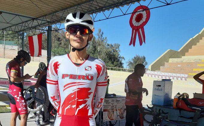André Gonzales: Los últimos meses los pasó compitiendo en Europa. Va en ciclismo de ruta y pista.