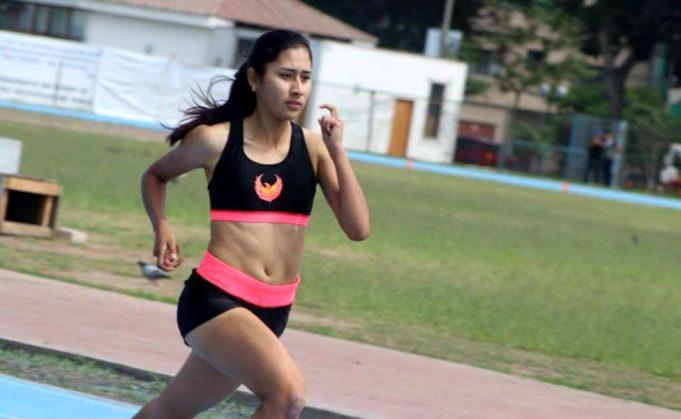 Gimena Copara: Recordista juvenil en 400 m planos. Integrará la posta 4x400 metros.