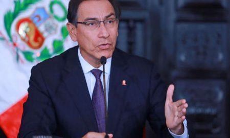 El presidente vizcarra felicitó a la selección peruana de fútbol