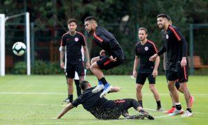 Copa América: Mapochos con problemas para entrenar