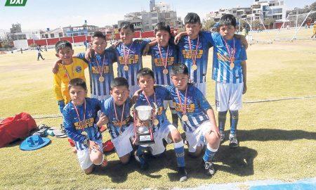 Atletico Madrid de Arequipa tuvo una destacada participación.