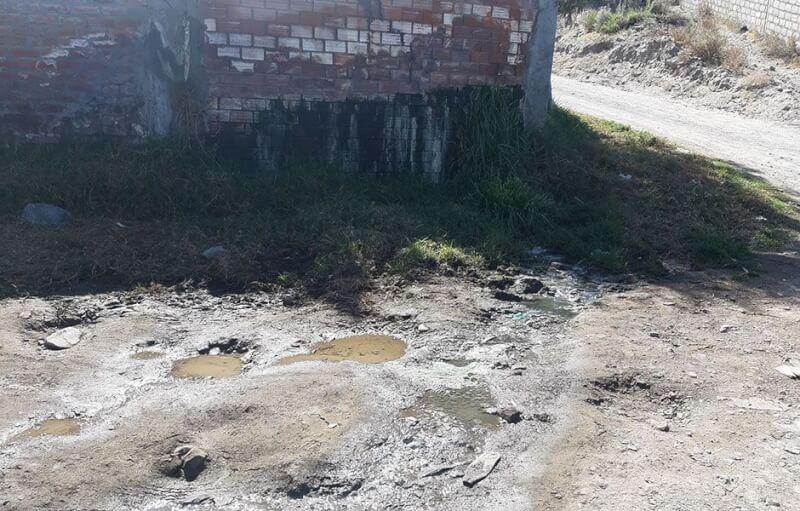 Arequipa: Aguas negras del complejo deportivo de Cerro Juli contaminan campos agrícolas