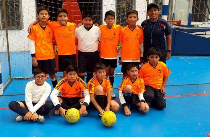 Francisco Rojas School sub-12 también obtuvo el tercer puesto.